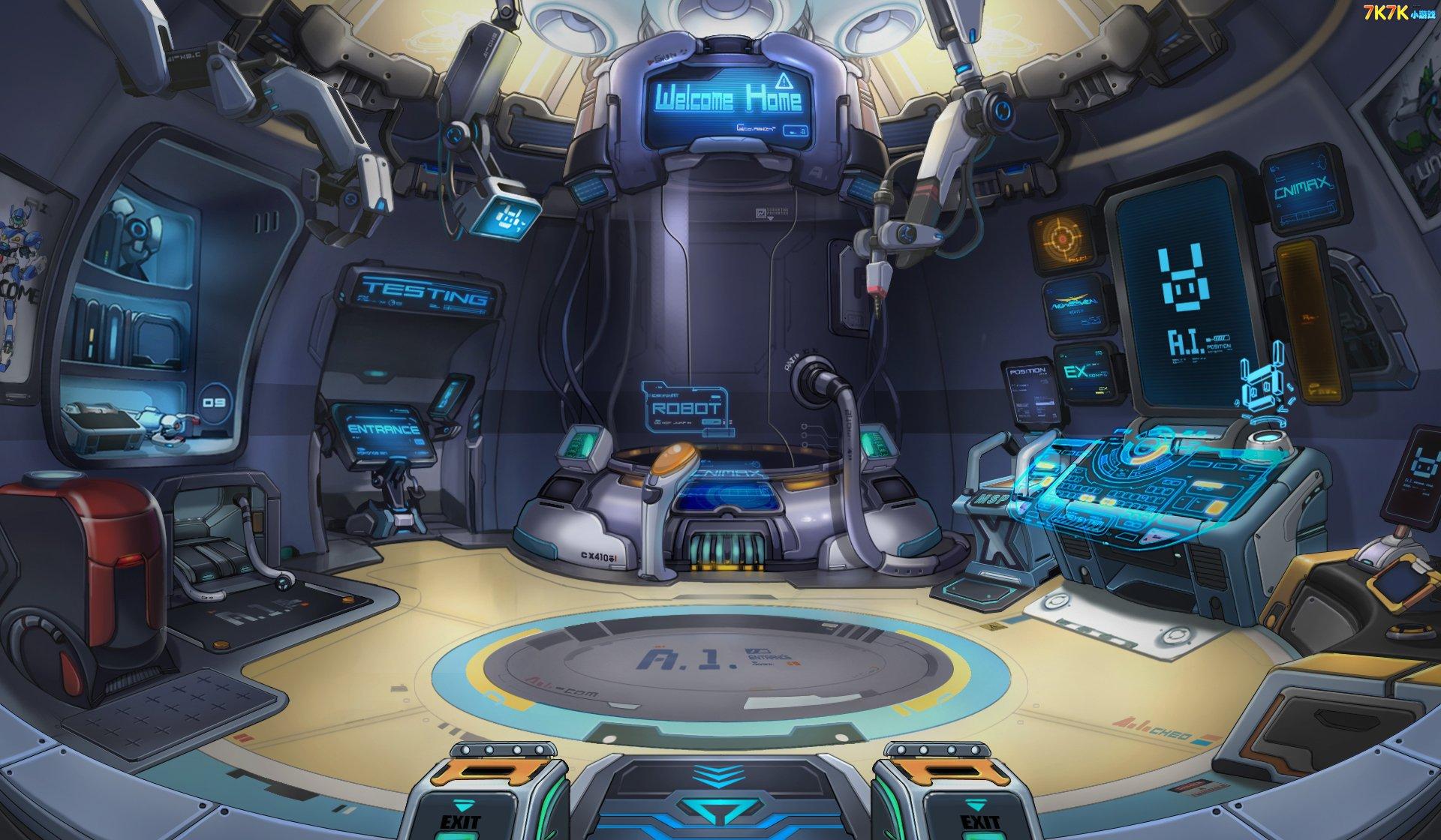 机甲旋风地球基地机械空间